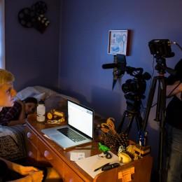 Senior launches film production