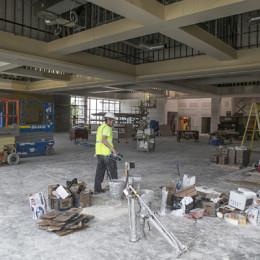 Construction continues progress across campus