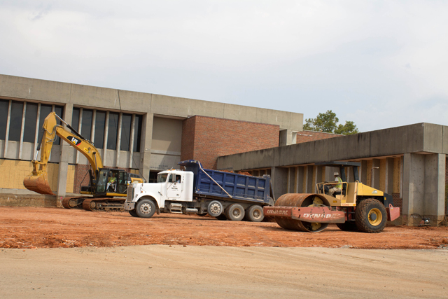 Construction creates space for students