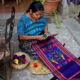 Guatemalan art aids single mothers in need