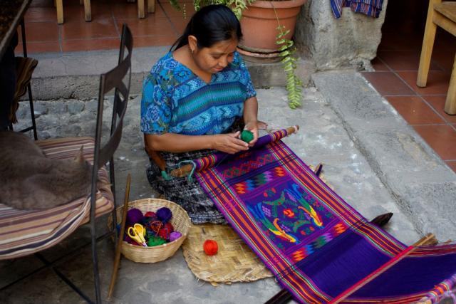 Guatemalan art aids single mothers in need