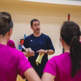 New volleyball coach encourages family culture