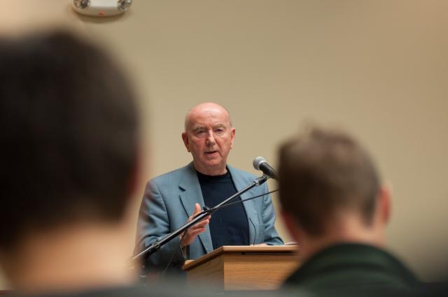 Irishman's story intertwines politics and education