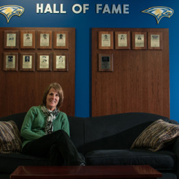 Athletic director pursues balance