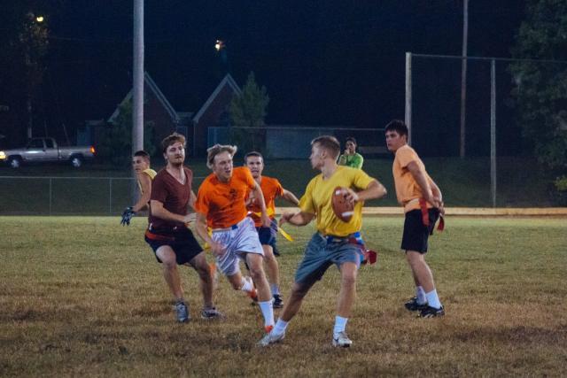 Intramurals encourage sportsmanship