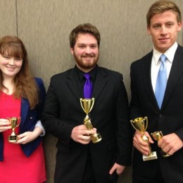 Forensics competitors bring home the gold