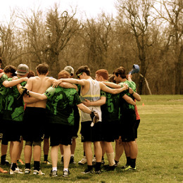 Ultimate Frisbee encourages ministry