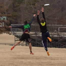 JBU's Ultimate Frisbee team practices three times a week. Since 2013, the Ultimate Frisbee team has beat the U of A three times, twice last weekend, making them the best team in the Arkansas.