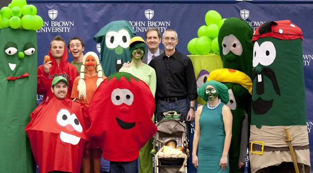 VeggieTales comes to campus