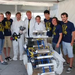Eaglenaut lunabot takes fourth place