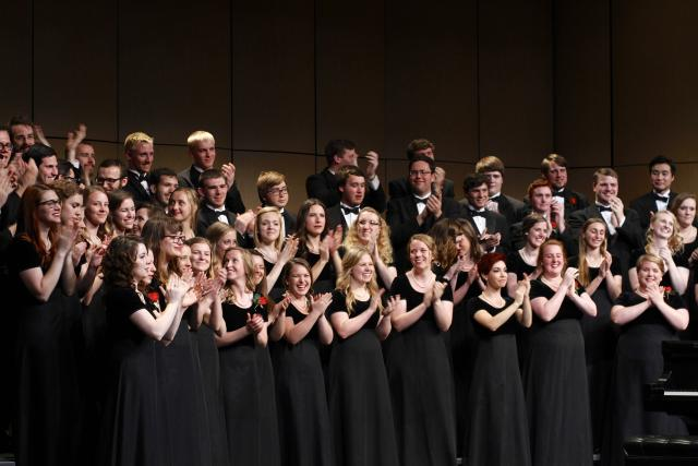 Cathedral choir shares experiences from Texas tour