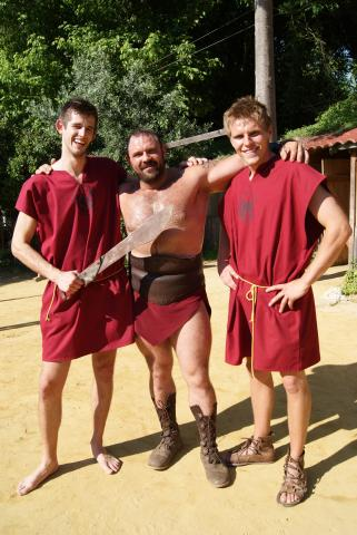 Roman adventures: recent graduates star in reality travel show