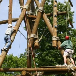 Soderquist Center ropes course gets facelift