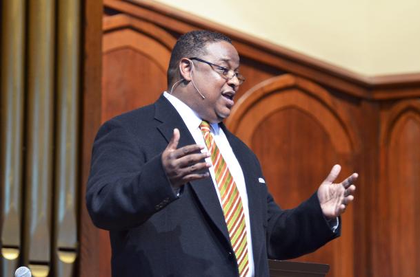 Chapel speaker salutes King