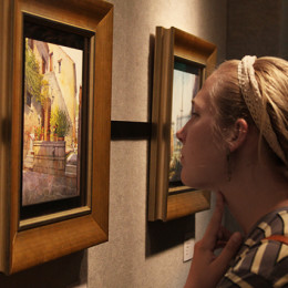 Plein Air exhibit impresses viewers with its simple beauty