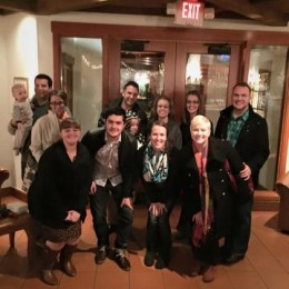 The career development staff is pictured above at their end-of-the-year dinner. Front Row: (left to right) Alyssa Bowerman, Jesus Bonilla Vargas, Lexi Anglin, Emily Burney. Back Row: (left to right) Brock and Sarah Erdman, Chris and Michelle Confer, Rebekah Ruckman and David Burney.