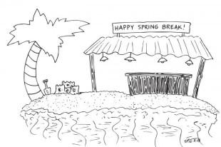 Student seeks ways to enjoy spring break on budget