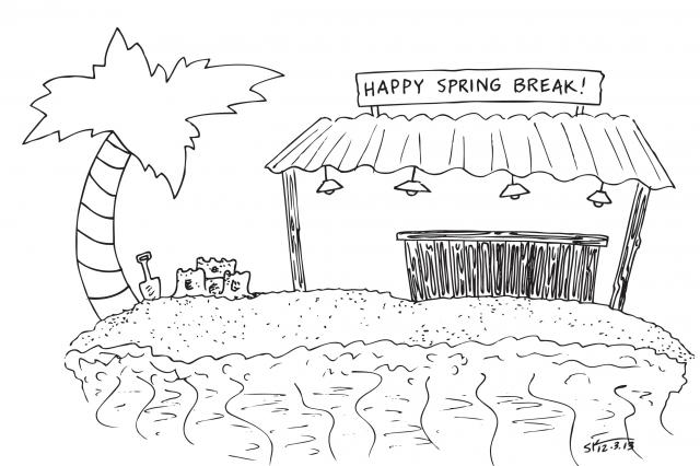 Student seeks ways to enjoy spring break on budget