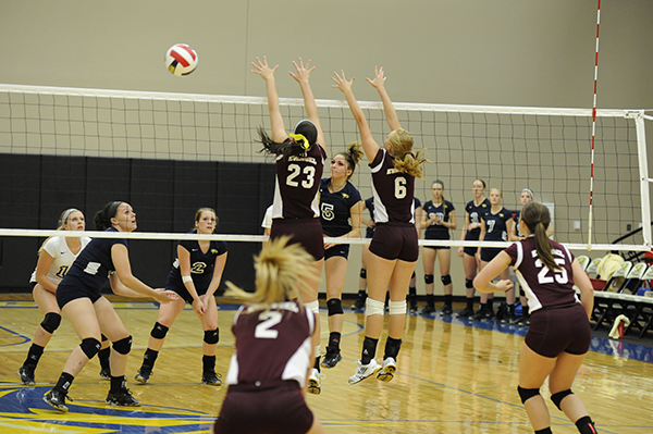 Volleyball prepares for SAC games