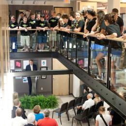 Windgate building unveiled to public
