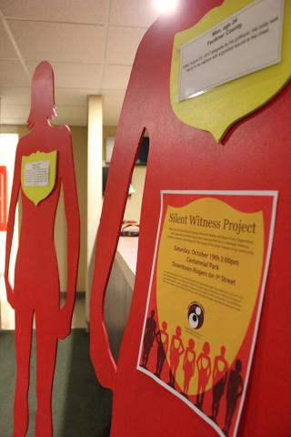Project seeks to educate on domestic violence
