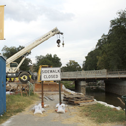 University Street bridge project nears completion