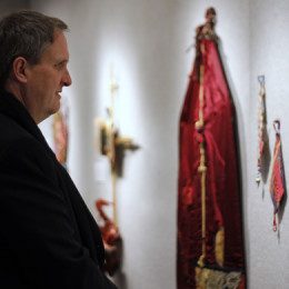 Tapestries illustrate artist's journey of faith