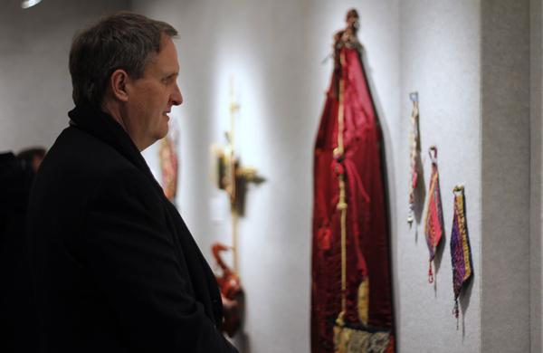 Tapestries illustrate artist's journey of faith