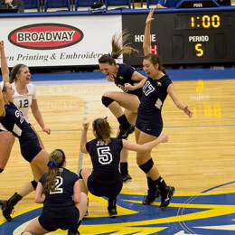 Volleyball optimistic for final games