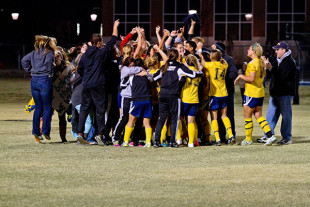 Lady Eagles take the SAC Conference Championship