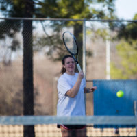 Tennis players strategize to win future matches, build strong relationships
