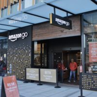 Amazon opens near-autonomous local market