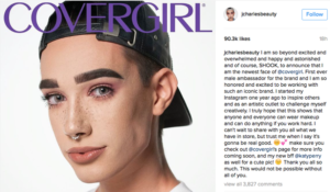 First CoverBoy and beauty industry re-defined
