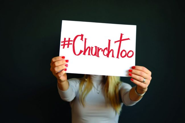 #ChurchToo exposes sexual abuse in the church