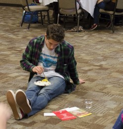 Students taste poverty at hunger banquet