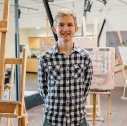 Runner pursues excellence in sport and art