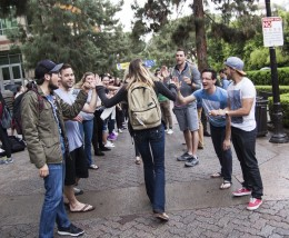 Students experience California revival