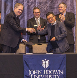 University partners with Korean college
