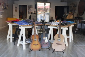 Legends Guitars and Vinyl supports local artisans