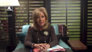 Courtesy of LONG HOLLOW CREATIVE  Evangelist, author and Bible teacher Beth Moore is one of many strong female figures among Christians in the U.S.