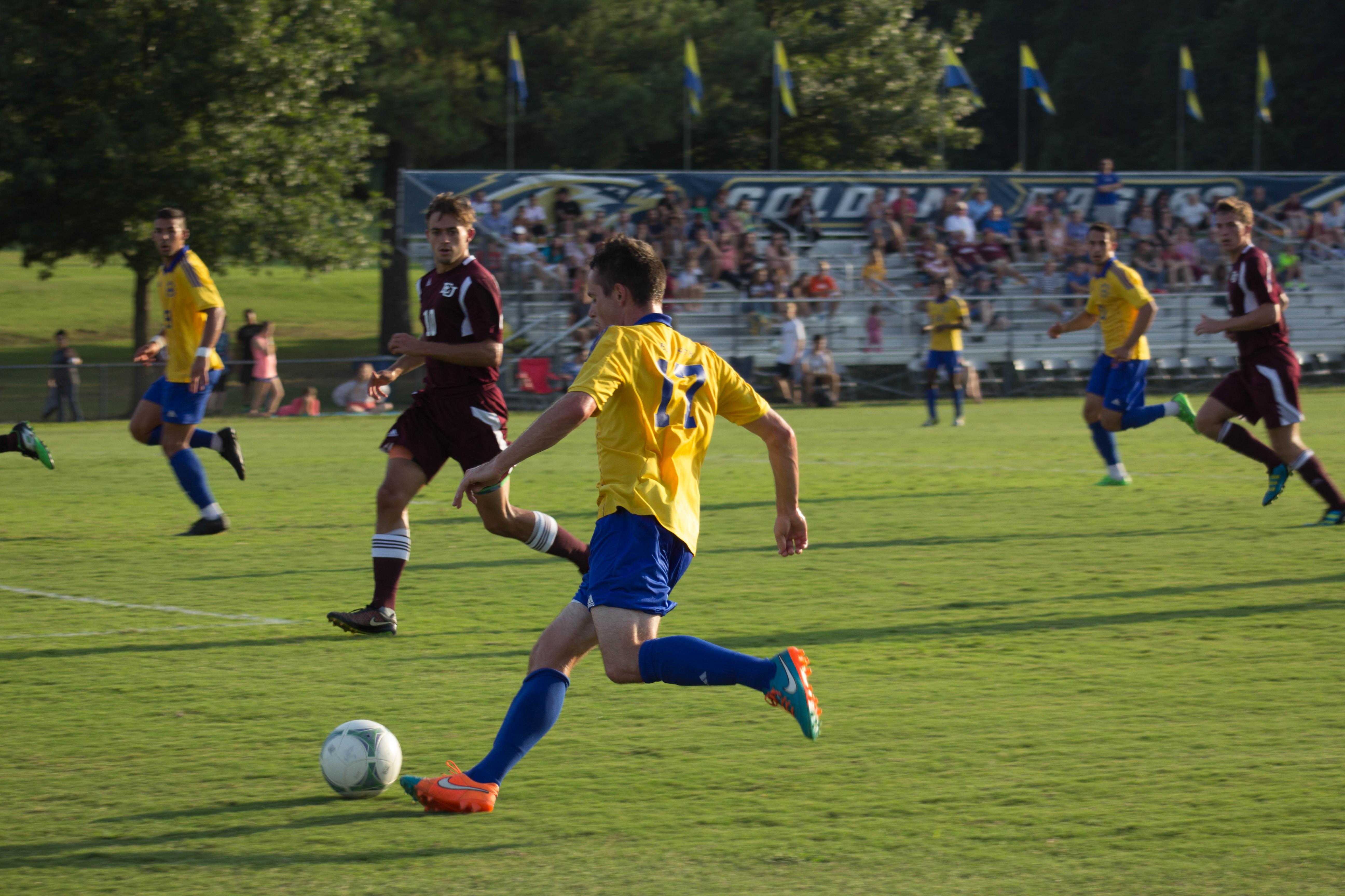 Golden Eagles soccer: unified, hopeful