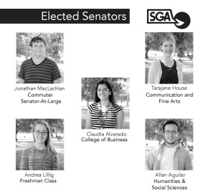 SGA welcomes new senators, makes plans