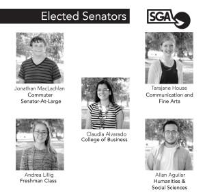 SGA welcomes new senators, makes plans