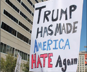 Hate crimes spike after election