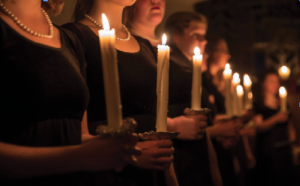 Choir director retires, directs last candlelight
