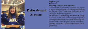 Katie Arnold: Cheerleader