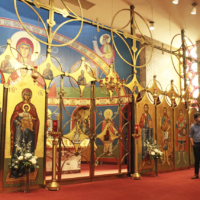 Icons and incense: Students experience Orthodox traditions