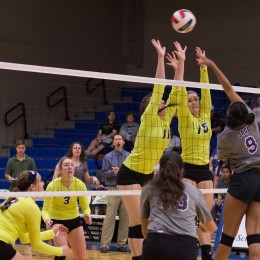 Volleyball team poised for season and upcoming match