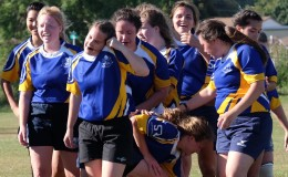 Women's rugby tackles stereotypes