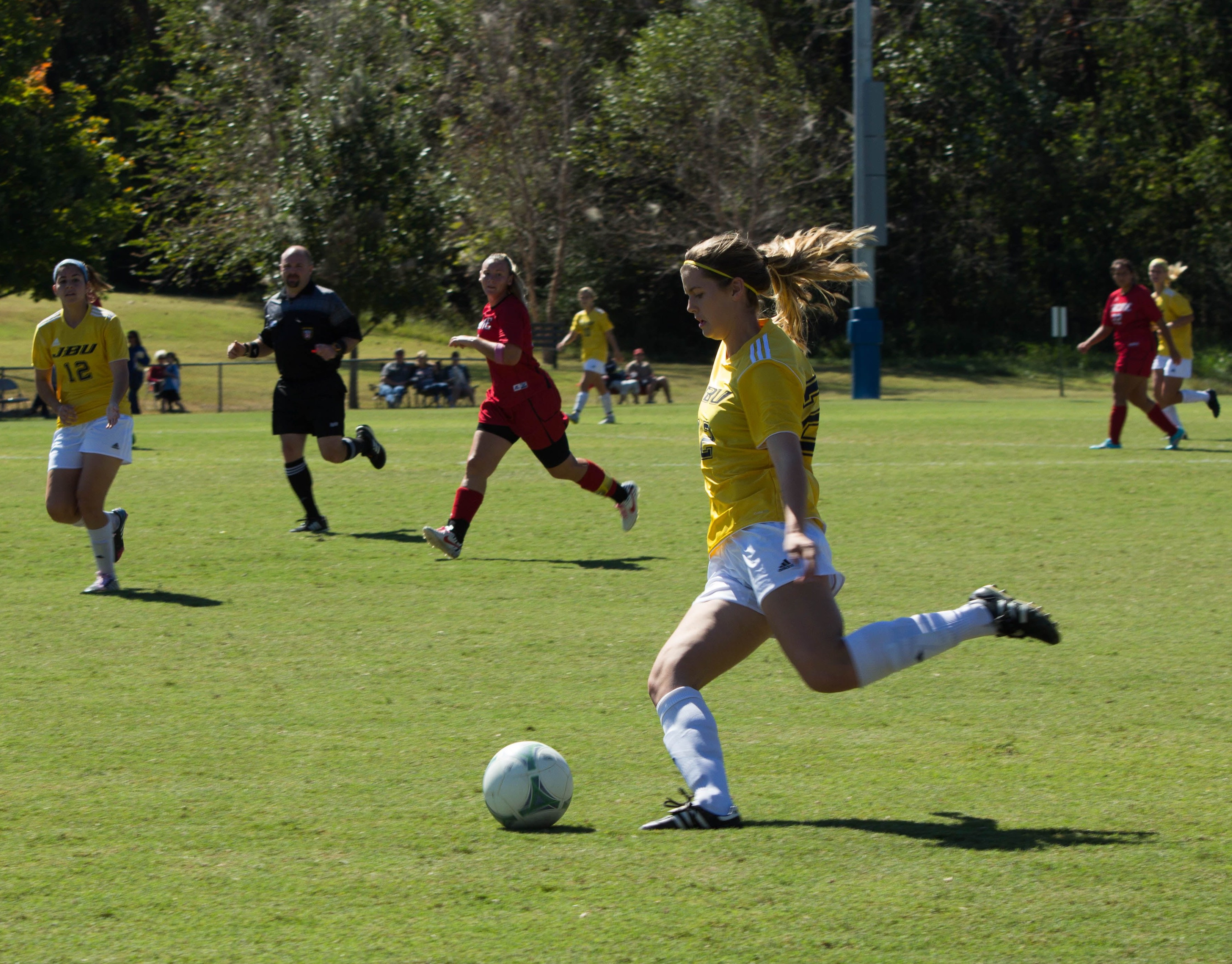 Soccer thrives in conference play